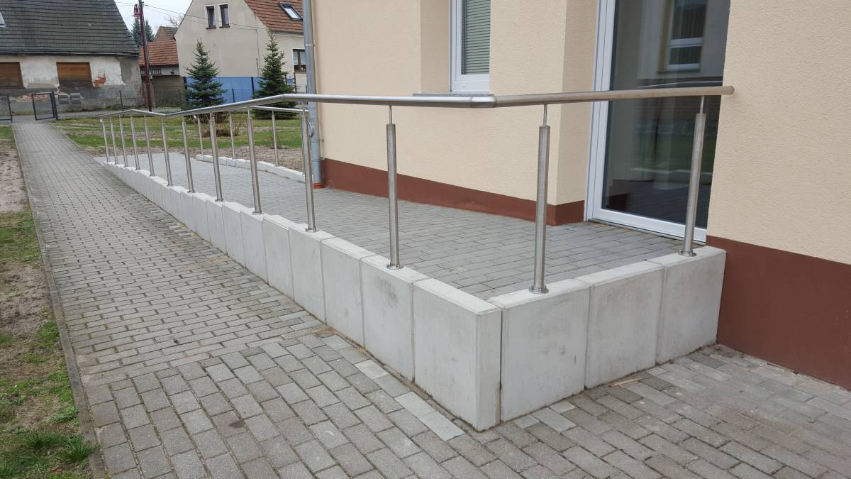 Bürgerhaus Turnow Pflasterarbeiten